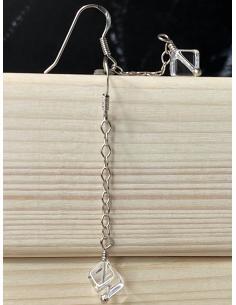 Création artisanale en argent avec minéraux pour femme vendu en ligne ou dans notre bijouterie de Ramillies