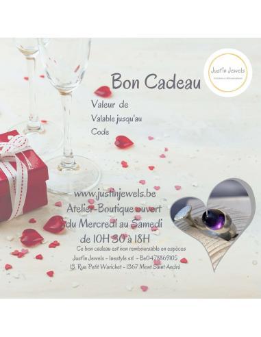 Bon cadeau St Valentin 25€