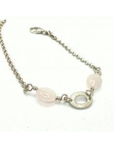 Bracelet argent motif ovale...