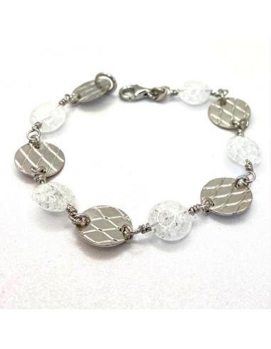 Bracelet MAYA et cristal de roche